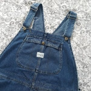 Rivited by Lee blue jean overalls